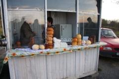Carne si produse lactate, confiscate de pe Hula Bradului