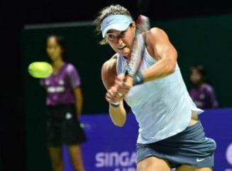 Caroline Garcia o invinge pe Svitolina si complica situatia in grupa Simonei Halep de la Turneul Campioanelor