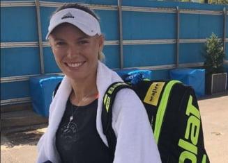 Caroline Wozniacki, despre meciul cu Monica Niculescu de la Doha
