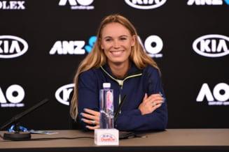 Caroline Wozniacki, despre sansa de a trece peste Simona Halep in clasamentul WTA si meciul cu Mihaela Buzarnescu