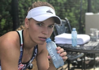 Caroline Wozniacki, despre sansele de a o intrece pe Simona Halep in clasamentul WTA