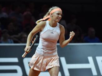 Caroline Wozniacki, despre semifinala castigata in fata Simonei Halep