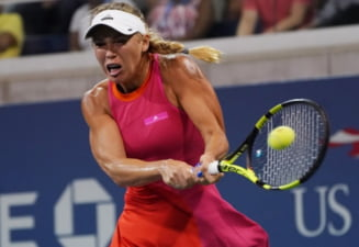 Caroline Wozniacki, invinsa de Caroline Garcia dupa un meci cu final de infarct. Simona Halep, obligata sa o invinga pe Svitolina