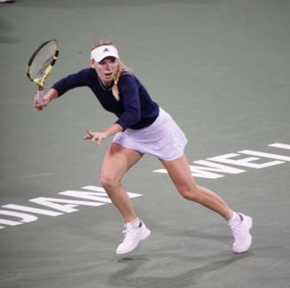 Caroline Wozniacki a bifat prima sa finala din sezonul 2019