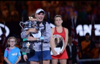 Caroline Wozniacki ii transmite un mesaj Simonei Halep, dupa accidentarea suferita la Doha