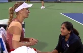 Caroline Wozniacki s-a retras de la Cincinnati