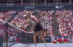 Caroline Wozniacki va fi amendata de WTA, dupa un gest facut in meciul cu Elina Svitolina (Video)
