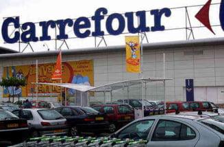 Carrefour, la prima scadere a vanzarilor in Romania
