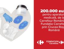 Carrefour doneaza 200.000 euro pentru dotarea spitalelor din Romania