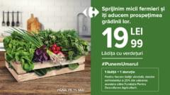 Carrefour lanseaza un produs sezonier cu legume proaspete, la un pret unic, pentru a sustine micii producatori agricoli