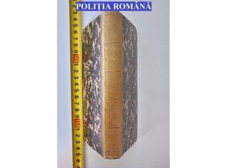 Carte veche de peste 230 de ani, furata de la Biblioteca Academiei Romane din Cluj, recuperata de politisti de la o casa de licitatii din Budapesta
