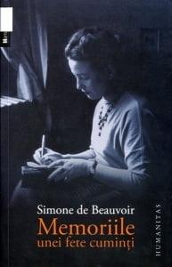 Cartea de la pagina 8: MEMORIILE UNEI FETE CUMINTI, SIMONE DE BEAUVOIR, Editura Humanitas, Bucuresti, 2011