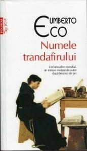 Cartea de la pagina 8: NUMELE TRANDAFIRULUI, UMBERTO ECO, Editura Polirom, Iasi, 2014