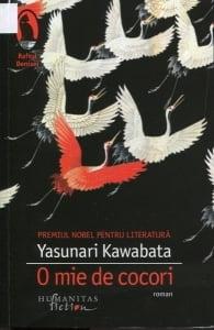 Cartea de la pagina 8: O MIE DE COCORI, YASUNARI KAWABATA, Editura Humanitas, Bucuresti, 2015