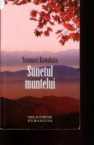Cartea de la pagina 8: SUNETUL MUNTELUI, YASUNARI KAWABATA, Editura Humanitas, 2010