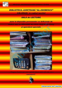 Carti audio Daisy pentru nevazatori, disponibile la biblioteca judeteana