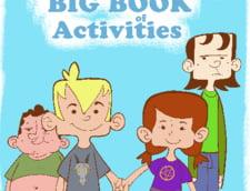 Carti de colorat si literatura satanista in scoli