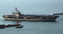 Casa Alba a anuntat ca a trimis nave de razboi in Peninsula Coreeana, insa acestea se indreptau in directia opusa