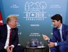 Casa Alba il critica dur pe Trudeau pentru pozitia de la summitul G7: Canada ne-a injunghiat in spate
