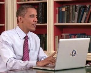 Casa Alba pariaza pe dispozitivele Apple - Obama prefera Mac-ul
