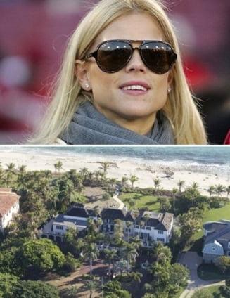 Casa de 12 milioane de dolari demolata de fosta sotie a lui Tiger Woods (Foto)