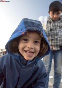 Casa in care a copilarit Trump a fost ocupata de refugiati in weekend