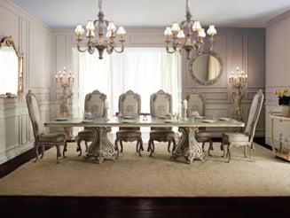 Casa ta, in stil baroc: mobilier de lux