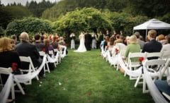 Woodstock gardens wedding