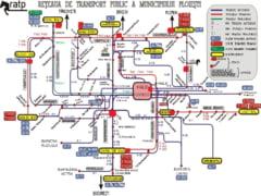 Casieriile de unde pot fi ridicate legitimatii pentru transportul gratuit