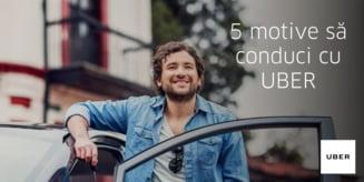 Castiga bani in timpul liber: 5 motive sa conduci cu UBER