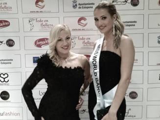 Castigatoarea Miss World, imbracata in creatiile unei romance