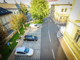 Cat a platit un clujean parcarea la Spitalul Judetean Cluj. E socat - FOTO