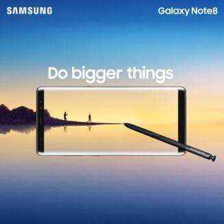 Cat costa Samsung Galaxy Note 8 in Romania