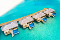 Cat costa o camera pe noapte la resortul de lux din Maldive unde-si petrec vacanta Antonia si Alex Velea