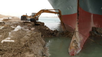 Cat costa repunerea pe linia de plutire a navei care a produs haosul din Canalul Suez. Proprietarii trebuie sa plateasca un miliard de dolari