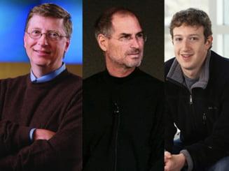 Cat de mult se aseamana Gates, Jobs si Zuckerberg