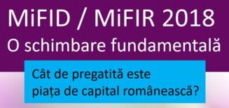 Cat de pregatita este piata de capital romaneasca pentru MiFID II?