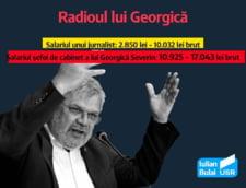 Cat incaseaza pe luna sefa de cabinet a lui Georgica Severin, directorul Radio Romania