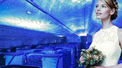 Cat te costa sa-ti faci nunta intr-un avion Boeing 777