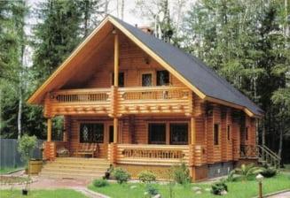 Cat te costa sa-ti faci o casa din lemn?