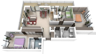Cat va costa un apartament pentru familie
