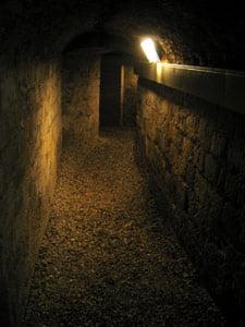 Catacombe din secolul 19, pregatite pentru cei ucisi de gripa porcina