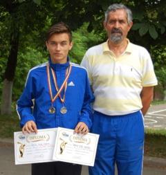 """Catalin Marian, sportivul anului la LPS """"Avram Iancu"""" Zalau"""