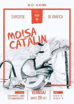 Catalin Moisa expune grafica la Galeria Armi