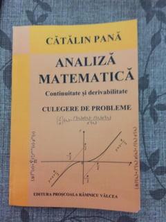 Catalin Pana a lansat o noua culegere de matematica