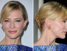 Cate Blanchett idei coafura machiaj sarbatori
