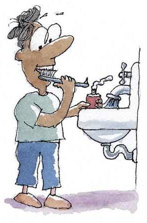 Cate calorii arzi cand te speli pe dinti? Dar cand faci un dus?