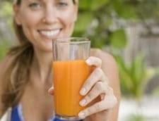 Cate calorii au sucurile de fructe si legume