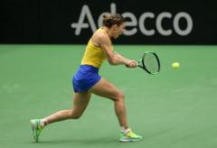 Cate kilograme a slabit Simona Halep la intalnirea de Fed Cup