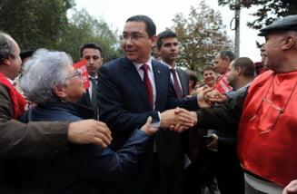 Cate procente ii despart pe Ponta si Iohannis - sondaj IRES